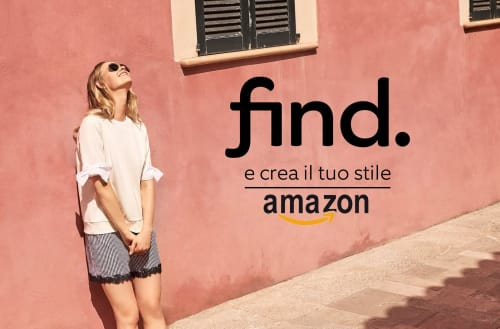 "Arriva ""Amazon FIND."" una linea moda firmata Amazon"